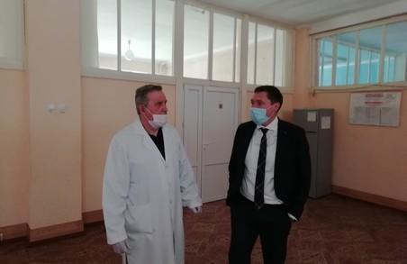 Голова ЛОДА поспілкувався з медиками Турківської ЦРЛ