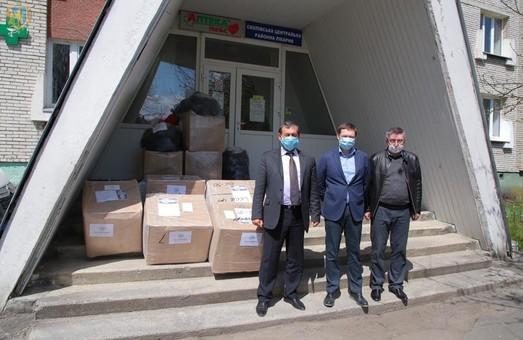 Сколівська ЦРБ отримала медичний вантаж