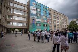 У Львові з'явився новий мурал з подякою лікарям (ФОТО)