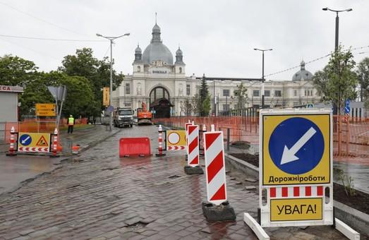 У Львові трамваї не курсуватимуть до вокзалу