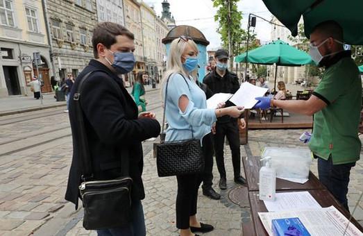 У Львові продовжують контролювати дотримання карантину підприємцями