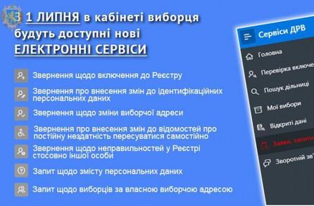 Українські виборці отримали нові електронні сервіси