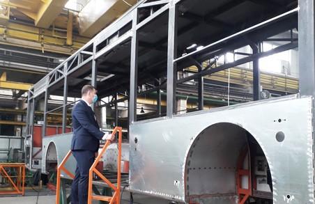 В Луцьку уже збирають нові тролейбуси «Богдан» для Полтави