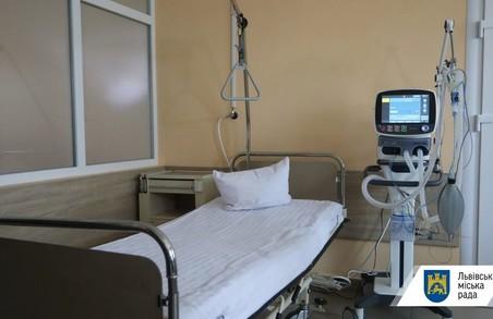 У Львівській міській раді спростували інформацію про те, що у лікарнях міста практично немає місць для хворих на COVID-19