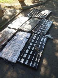 На Волині у вантажному поїзді виявили 6 тисяч пачок цигарок, які намагалися вивести у Польщу