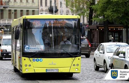 Громадський транспорт Львова і далі курсує в режимі спец перевезень