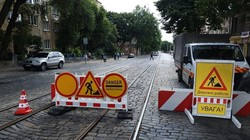 У Львові закрили для проїзду ділянку вулиці Шевченка (ФОТО)