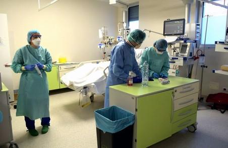 На Львівщині дещо зменшилася чисельність пацієнтів, ушпиталених із приводу коронавірусу