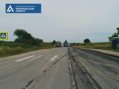 На Тернопільщині завершили регенерацію основи на 18 кілометрах автотраси М-19 Доманове – Ковель – Чернівці – Треблече