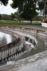 У Луцьку почали роботи із очищення біологічних ставків на очисних спорудах водоканалу