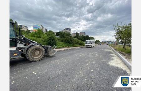 З наступного тижня «Онур» розпочне роботи на другій частині вулиці Хуторівка у Львові
