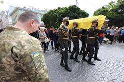 Львівщина попрощалася із Героєм України Тарасом Матвіївим