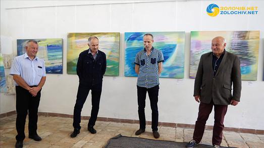 У Золочівському замку на Львівщині відкрилася персональна виставка художника Ігоря Мікули