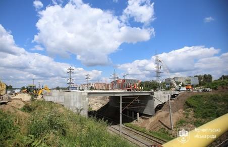 У Тернополі завершують масштабні бетонні роботи на Гаївському шляхопроводі (ФОТО)