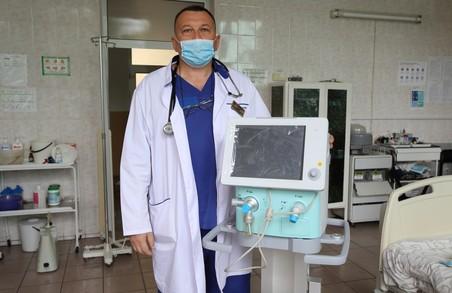 Тернопільська міська лікарня швидкої допомоги отримала в подарунок дороге медичне обладнання