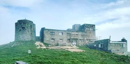 На Прикарпатті розпочали ремонтувати будинок обсерваторії на горі Піп Іван