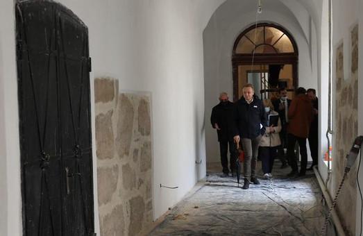У Львові завершують реставрацію келій костелу Святого Казимира і реставрують храм Святого Климентія Шептицького