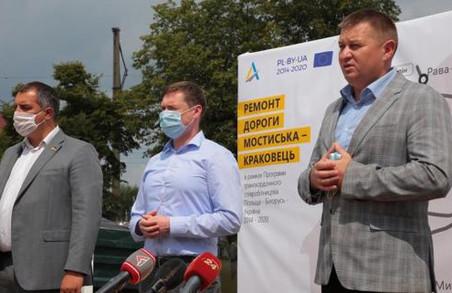 На Львівщині починають ремонт прикордонної автодороги Мостистька – Краковець