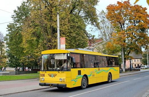 Тролейбуси до ринку «Шувар» у Львові поїдуть уже восени