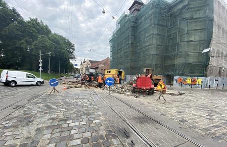 У Львові тимчасово не курсують трамваї маршрутів № 1 і 9