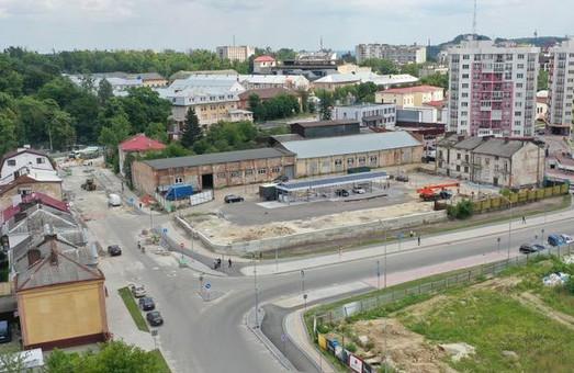 Розв'язку на перехресті вулиці Шевченка, Левандівської і Залізничної відкриють для руху на початку серпня