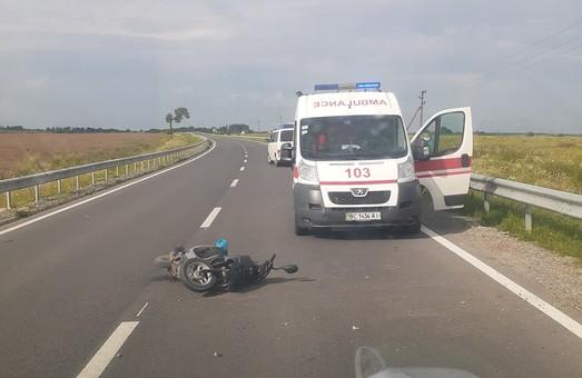 На Львівщині сьогодні сталося дві ДТП за участью мотоциклістів