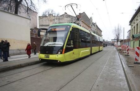 У Львові хочуть побудувати трамвайну колію по вулиці Замарстинівській до ТРЦ «Спартак».
