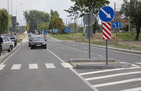 У Львові відкрили для проїзду першу ділянку відремонтованої вулиці Данила Апостола