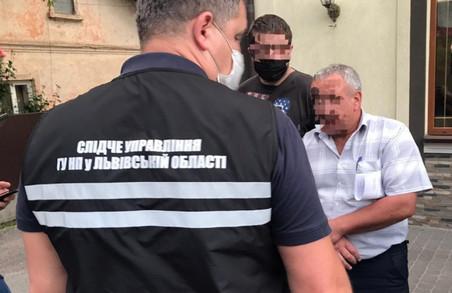 Керівника філії Львівського облавтодору затримали на хабарі