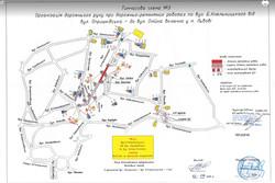 У Львові завтра закривають для проїзду частину вулиці Богдана Хмельницького