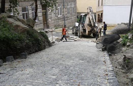 Вулиці Князя Лева та Пішу у Львові ремонтуватимуть до 1 вересня