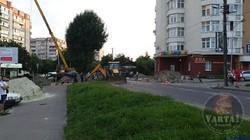 У Львові сьогодні вночі перекривали вулицю Варшавську