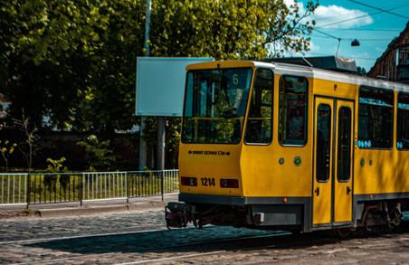 6 трамвай у Львові знову курсуватиме до вокзалу