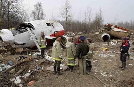 Два вибухи стали причиною катастрофи літака президента Польщі Леха Качинського під Смоленськом.