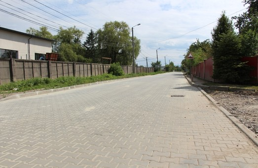 У Дрогобичі завершили капітальний ремонт вулиці Ірини Вільде