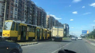 У Львові зупинилися трамваї маршруту № 3