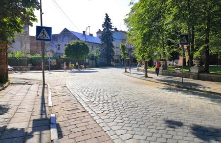 У Дрогобичі на Львівщині завершили реконструкцію вулиці Ярослава Осьмомисла (ФОТО)