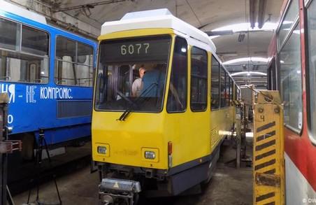 «Львівелектротранс» придбав бандажі для коліс трамвайних вагонів на суму понад мільйон гривень