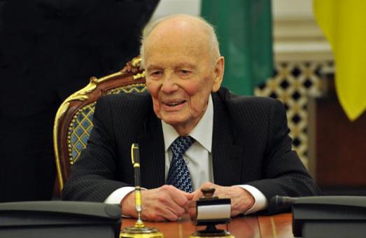 Сьогодні помер президент Національної академії наук України Борис Патон