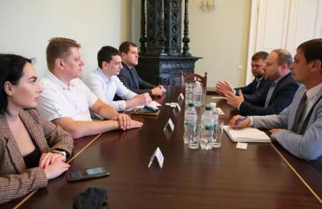 На Львівщині планують реалізувати спільні проекти із підприємцями із Ізраїлю