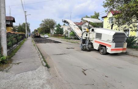 У Дрогобичі на Львівщині почали ремонти двох вулиць