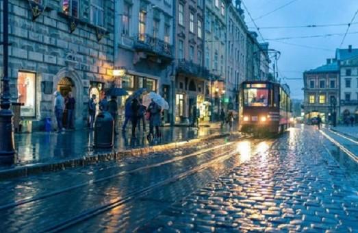 У понеділок 24 серпня у Львові вночі очікується дощ, а удень – хмарна погода