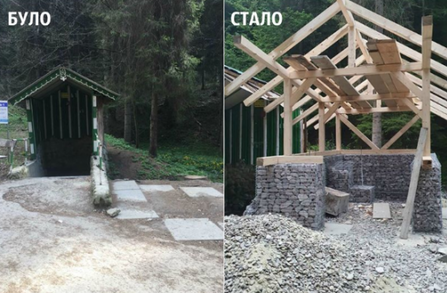 У Східниці на Дрогобиччині почалася реконструкція джерела №1