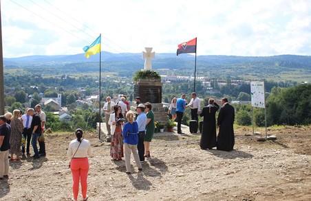 В Карпатах спорудили ще один пам'ятник борцям за волю України