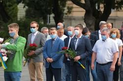 Львівщина вшановує 164-ту річницю із дня народження Івана Франка (ФОТО)