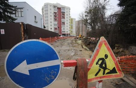 У Львові від завтра на ремонт закривають частину вулиці Пекарської