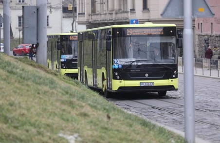 Із 1 вересня у Львові збільшать чисельність громадського транспорту на маршрутах