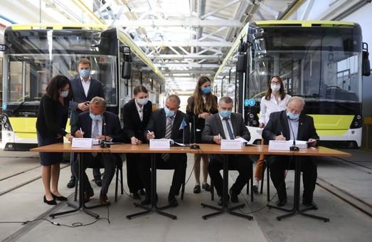 Львів купує у місцевого виробника 10 нових трамваїв за 20,8 мільйонів євро