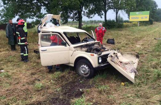 У Жовківському районі біля Львова у ДТП постраждало троє людей