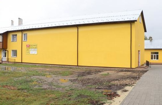 У селі Викоти на Львівщині відкрили добудовану і відремонтовану школу